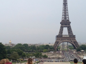 My one day in Paris, I took this picture but didn't have time to climb the tower on this day.