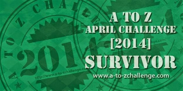A to Z 2014 Survivor