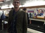 Mon mari à la Gare du Nord, Paris