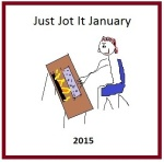 "This post is part of Linda G Hill's ""JusJoJan"" ! Click and join!"